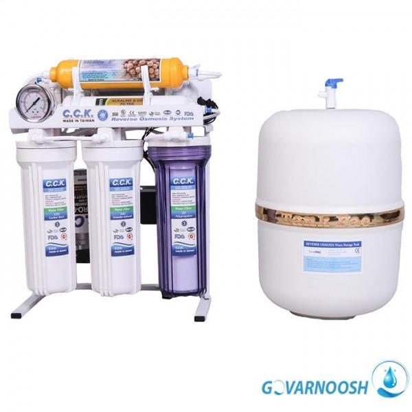 دستگاه تصفیه آب خانگی ۸ مرحله ای سی سی کی تایوان