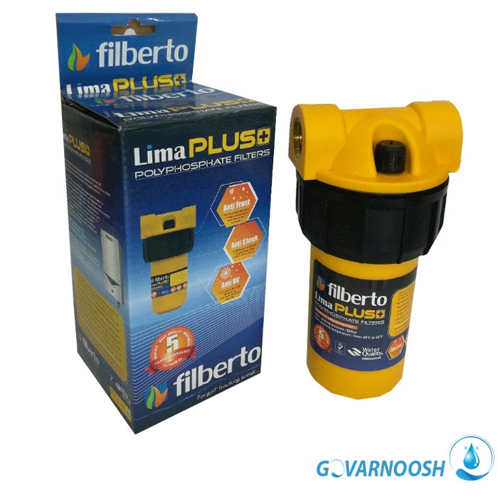 فیلتر رسوب گیر فیلبرتو مدل لیما پلاس مخصوص پکیج و آبگرمکن