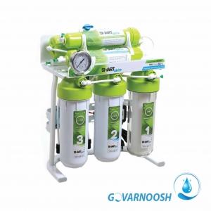 دستگاه تصفیه آب خانگی شش مرحله ای اسمارت دراپ مدل plant