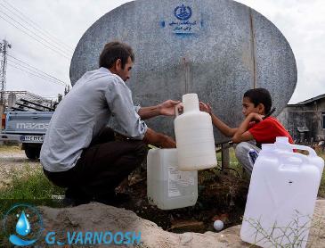 تامین آب شری شیرین و تصفیه شده در شرایط بحرانی