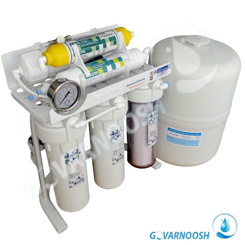قیمت بهترین دستگاه تصفیه آب خانگی تایوانی هفت مرحله ای تانک پک