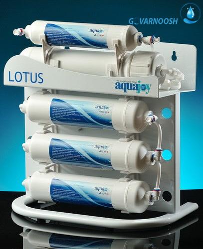 خرید بهترین دستگاه تصفیه آب خانگی آکواجوی پنج مرحله ای مدل لوتوس با قیمت مناسب