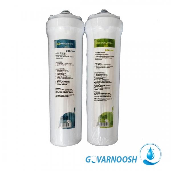 فیلتر تصفیه آب ایزیول با تعویض سریع و آسان