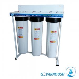 دستگاه پیش تصفیه سه مرحله ای مدل جامبو بهترین دستگاه پیش تصفیه آب