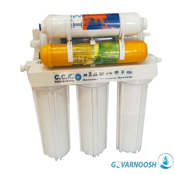 تصفیه آب خانگی اولترافیلتراسیون بدون برق و مخزن