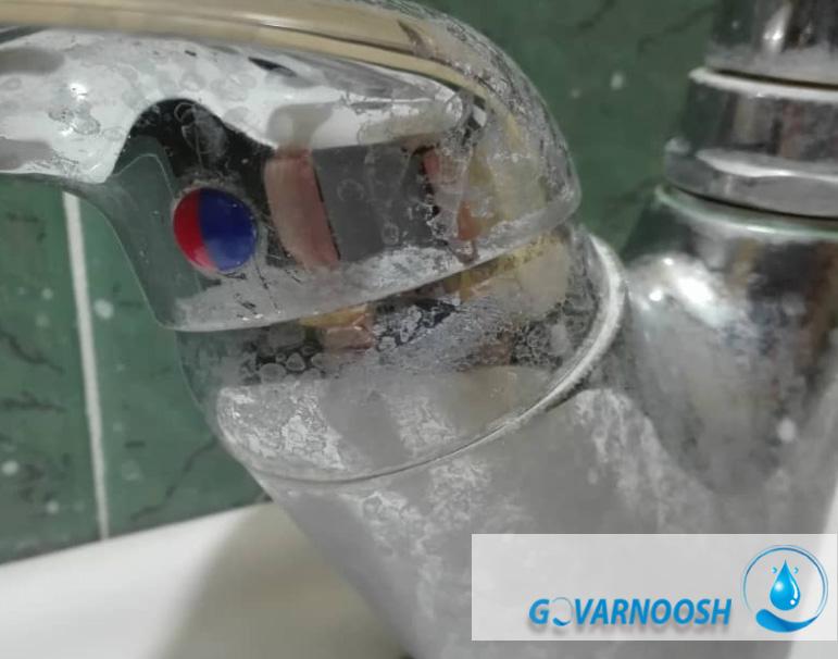 علت خرابی شیر برداشت تصفیه آب