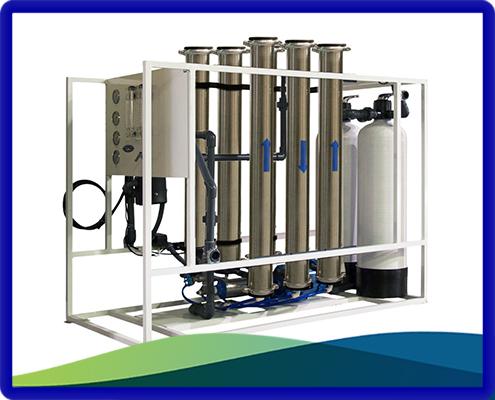 خرید دستگاه تصفیه آب صنعتی و نیمه