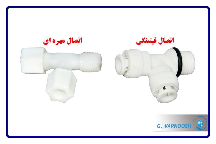 اتصالات دستگاه تصفیه آب