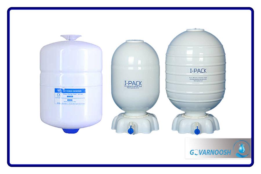 انواع مخزن دستگاه تصفیه آب