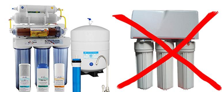 عکس راه های تشخیص دستگاه تصفیه آب تقلبی از اصل و اورجینال